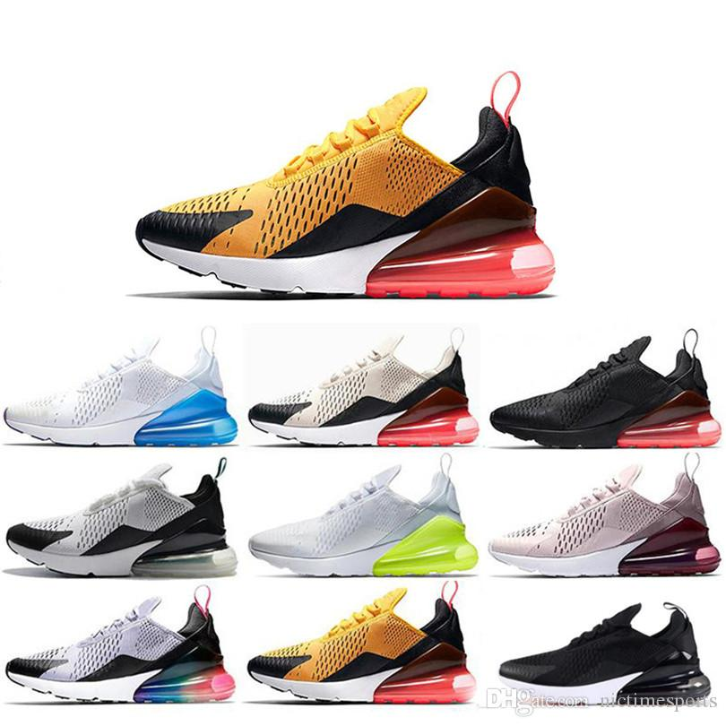 00b3a115f 2019 270 Photo Blue Running Shoes Navy Teal Mens Flair Triple Black Trainer  Sports Shoe Medium Olive Tiger Barely Rose Womens 270s Sneakers 36 45 From  ...