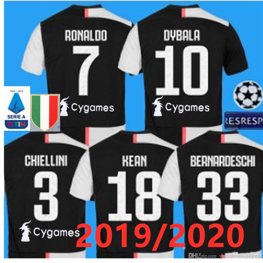 2019 2020 Top qualit JUVE 3RD Soccer Jersey 19 20 JUVE RONALDO Home DYBALA  BUFFON Camisetas Futbol Camisas Maillot Football Shirt