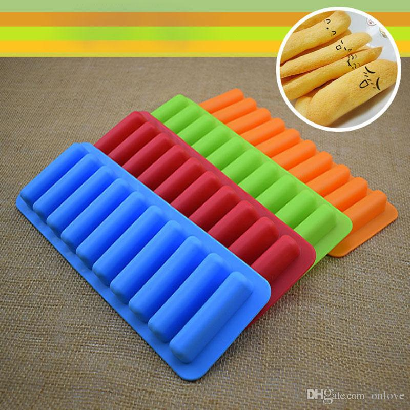 Reusable Ice Cream Tools Popsicle Holder 10 Cube Tray Freeze Ice Mould For Water Bottle Pudding Jelly Chocolate Cookies Mold XD20715