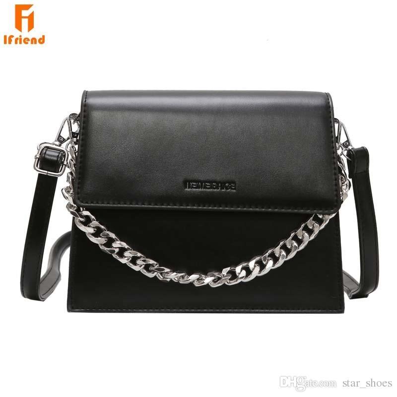 3fd8e4811b08 Ifriend New Arrival Trendy Small Square Shoulder Bag Women S Chain Strap Messenger  Crossbody Bag Fashion Women Handbag Sac Femme  34438 Leather Bags ...