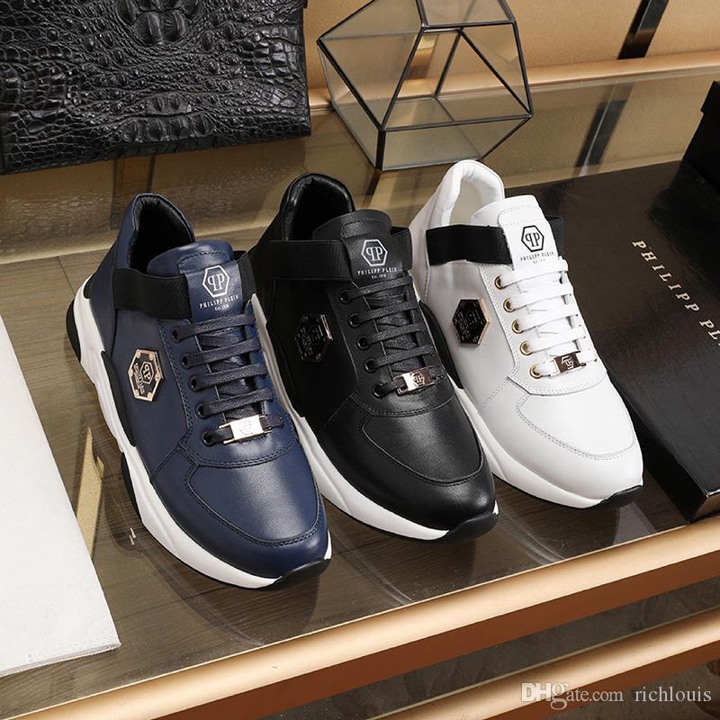 Comfortable Mens Shoes Herren Luxus Marken Schuhe New Arrival Vintage Designer Casual Footwears Lace up Plus Size Low Top Fashion Men Shoes