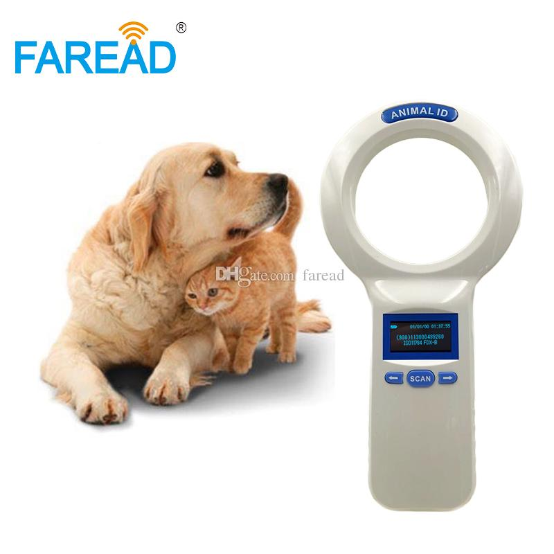 Pet Scanner animal ID handheld reader bluetooth USB 134 2kHz/125kHz,Animal  ID portable for pet identification