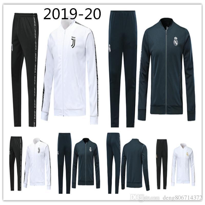 new style 05365 563eb 2019 Real Madrid Windbreaker Jersey jacket KROOS BALE ISCO MODRIC ASENSIO  MARIANO 19 20 Madrid football jacket zipper soccer tracksuit