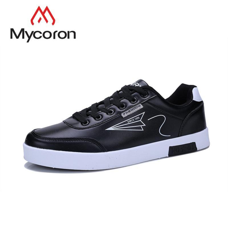 a97b3f6fd9a6d MYCORON Men Shoes Minimalist Design Lace Up Comfortable Spring/Autumn  Sneakers Students Casual Shoes Sapatenis Masculino High Heel Shoes Nude  Shoes From ...