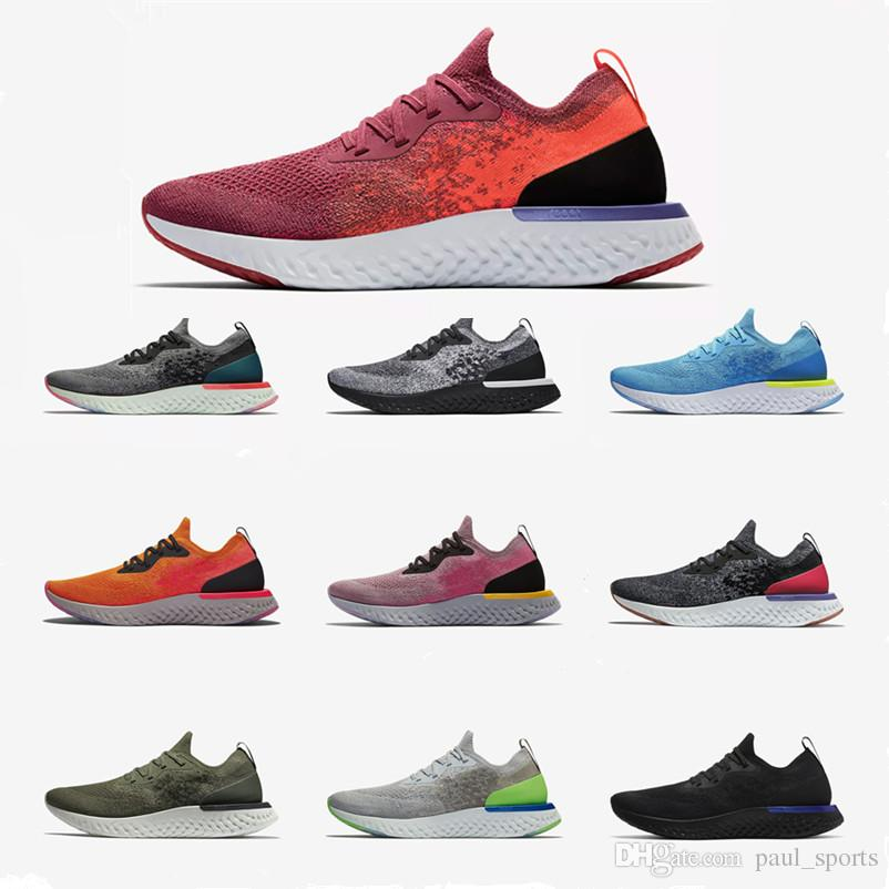 211c998b7be Epic React Fly Knit Light Weight Breathable Casual Sports Shoes for ...