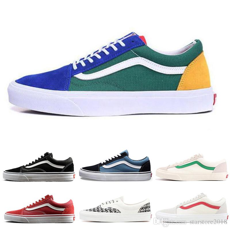 Vans Yacht Club: 2019 New Hot YACHT CLUB Vans Old Skool FEAR OF GOD Black