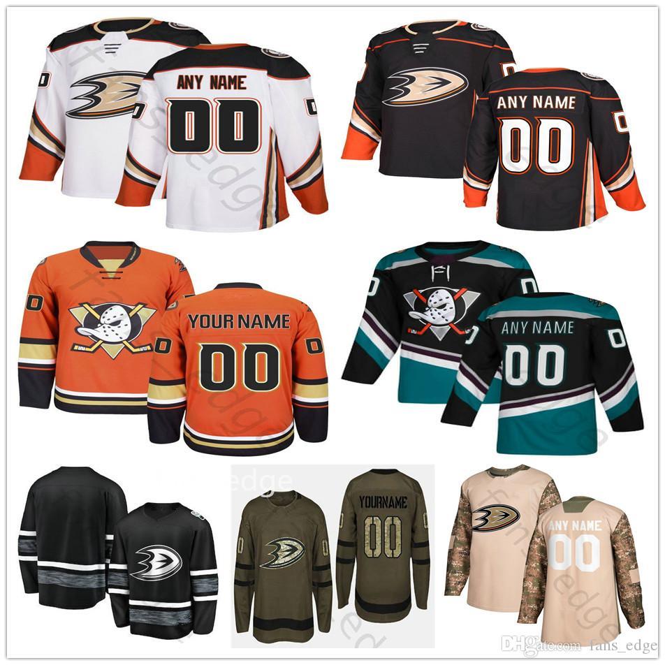 dd9fecba376 2019 Custom Anaheim Ducks  15 Ryan Getzlaf 17 Ryan Kesler 30 Ryan Miller  Men Women Kids Youth Hockey Jerseys From Fans edge