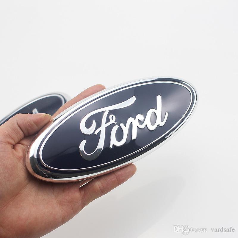 Rear Blue Badge Sign Symbol Sticker Logo Emblem For Ford F F Raptor Edge Explorer Car Brand Emblems Car Brand Logos From Vardsafe   Dhgate
