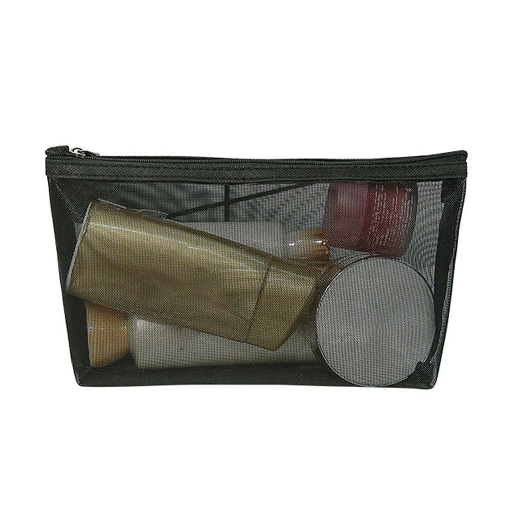 d040d98d6858 Travel Storage Organizer Multifunctional Toiletry Transparent Makeup Bag  Mesh Zipper Wash Women Cosmetic Pouch Portable
