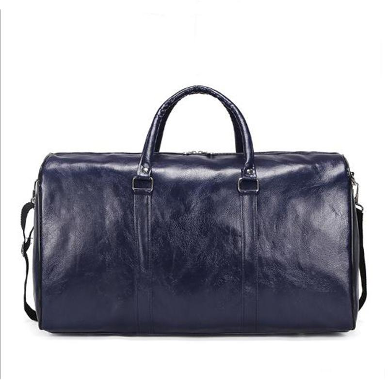 Wobag Fashion 2018 Men And Women Bags New Pu Travel Bag Large Capacity  Waterproof Short Distance Luggage Bag Sports Gym Garment Bags Computer Bags  From ... 1cca6fbf86000