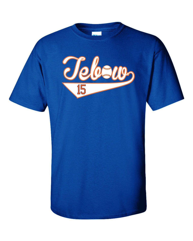sale retailer e7139 8c0e2 tim tebow t shirt jersey