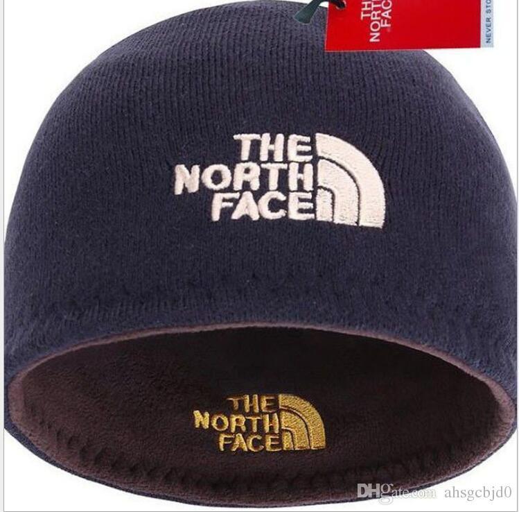 50d6d95707b Free Rare Unisex Brand NF Hat The North Polar Fleece Cap Winter Beanie Men  Women Skull Caps Face Outdoor Skiing Snood Hats Warm Cap Ear Muff Crochet  Baby ...