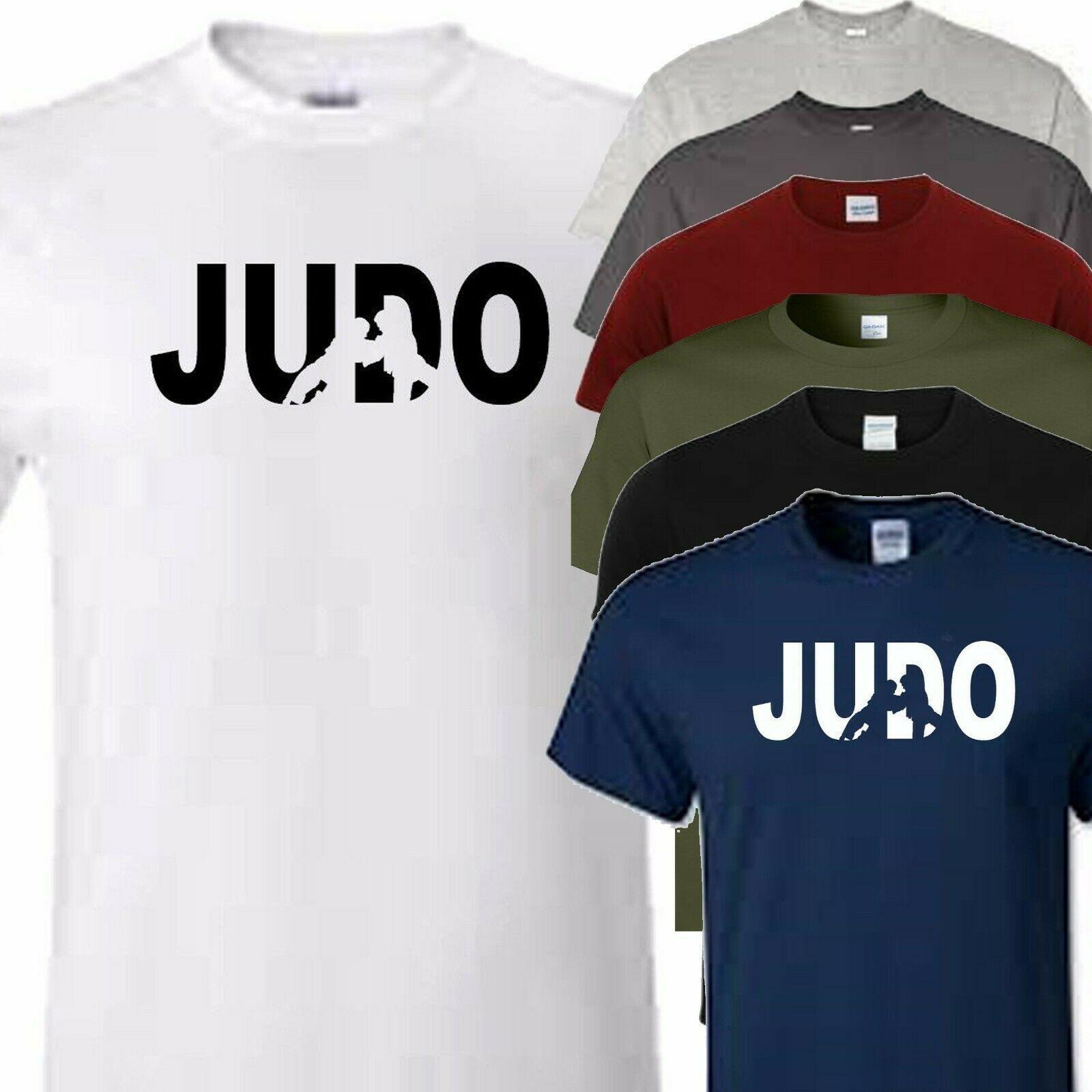 8d354574356 Compre Judo Artes Marciales Camiseta Todos Los Tamaños Niños Y Adultos  Tamaños Disponibles Hombres Mujeres Unisex Moda Camiseta Envío Gratis A  $13.91 Del ...