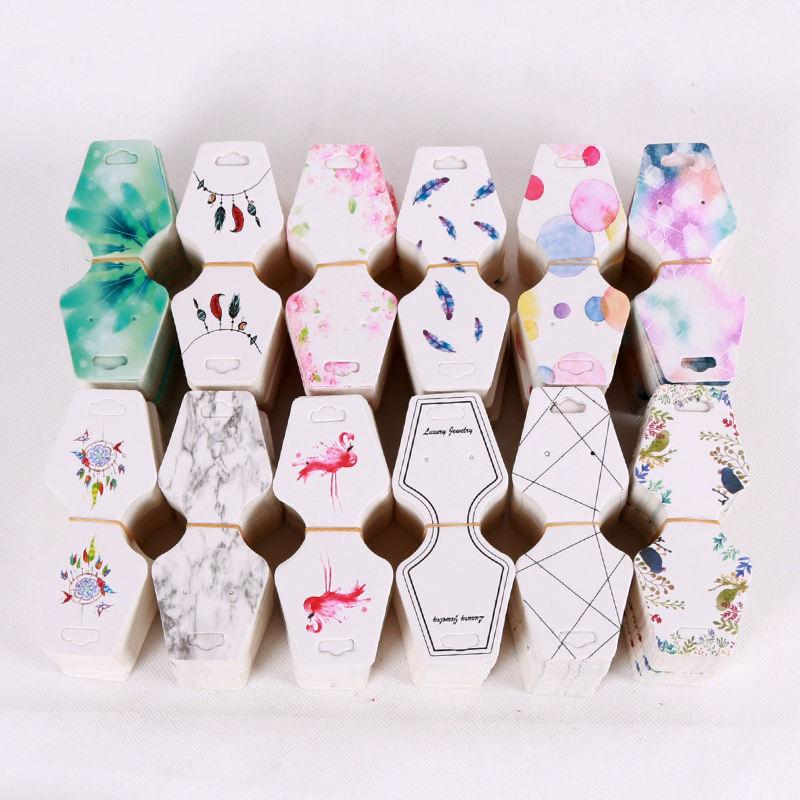 Back To Search Resultsjewelry & Accessories 100pcs Colorful Printing Paper Cards Jewelry Necklace Bracelet Hang Tag Jewelry Display Cards Label Tag 4.5x10.8cm Beads & Jewelry Making