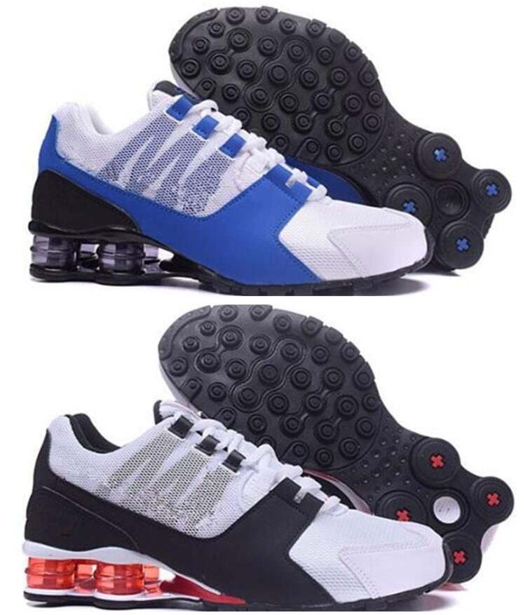 9b81c27096fbd3 2018 Classic Shox Avenue 802 Air Cushion Casual Shoes Mens Women Zapatillas  Brand Trainers Breathable Lace Up Casual Shoes Casual Shoes Shoes Men Shoes  ...