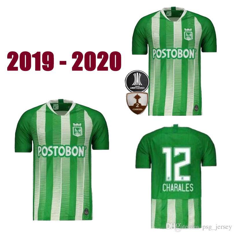 3ebf6288a 2019 19 20 New Atletico Nacional Football Championship RENTERIA Maillot Atletico  Nacional Soccer Jersey 2020 TORRES LUCUMI Maillot De Foot From Psg jersey