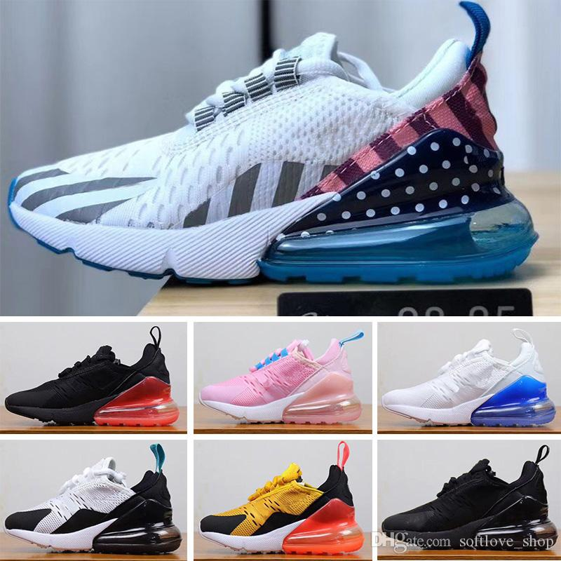 Nike air max 270 27C Hot Child Parra Infant 27O OG Scarpe da corsa per bambini Cactus 27 Aircushion Outdoor Toddler Athletic 27 Boy Girl Bambini Sneaker Taglia 28-35
