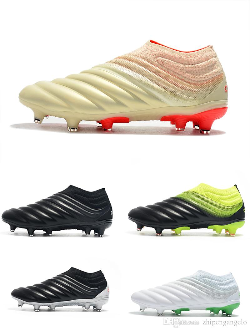 2019 free shipping cheap best brand mens copa 19 mundial fg soccer cleats fg leather soccer shoes world cup football boots