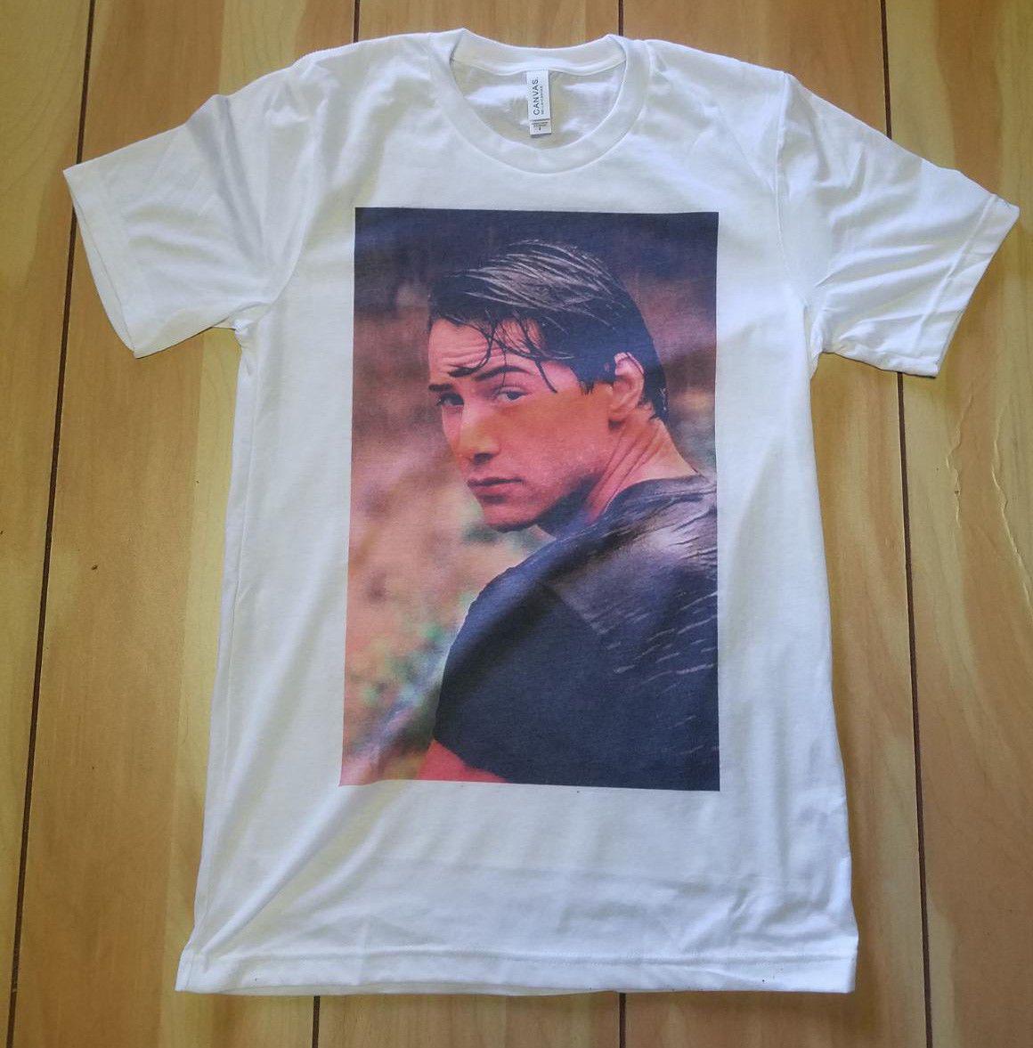 Xl Break Slim Foto Soft Keanu Nueva L Xxl Camiseta Reeves S M Tees Point Fit Surf Personalizada iukZXPOT