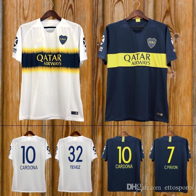 top fashion 79a1b 449e2 TOP Thailand New 2018 19 Boca Juniors soccer Jersey 2019 GAGO CARLITOS home  away 3rd football shirt TEVEZ Boca Juniors camisetas de futbol