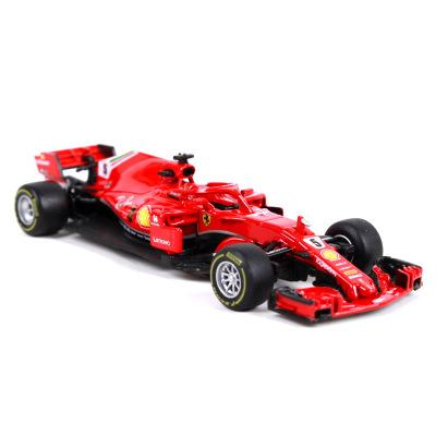 1:43 Sports Car F1 Team S.Vettel K.Raikkonen Collective Edition Metal Material Race Car Collection Alloy Gift For Kid