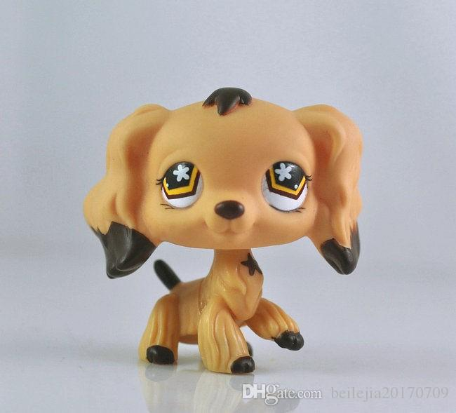 Littlest PET Dog Spaniel Animal child girl boy figure loose cute LP986