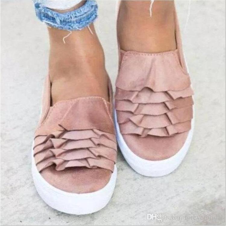 5ecb97d4f5 Sandalia Gladiadora Mulheres Sapatos De Grife De Verão Mocassim Plana  Sapatos Moda Confortável Deslizamento Em Oxfords Sandálias Arco Doce Sapato  Para ...