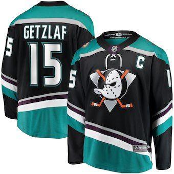 f55402d2634d0 Compre Ryan Getzlaf Anaheim Ducks Nhl Camiseta De Hockey John Gibson  Brandon Montour Corey Perry Ondrej Kase Camisetas De Hockey Sobre Hielo  Camisetas De ...