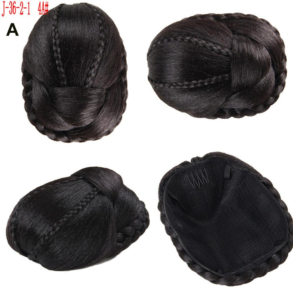 2018 new Pretty Woman Girl Ponytail Holder Hairpiece Wig Hair Ring Bun hair tools organizer braids for beautiful Women