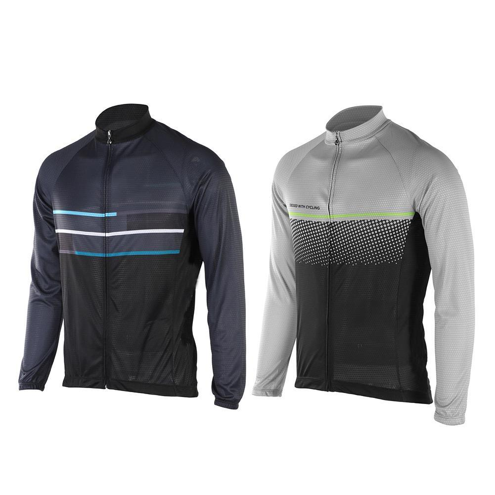 Cycling Jersey Tops Quick Dry Breathable Men s Long Sleeve Cycling ... a2a403532