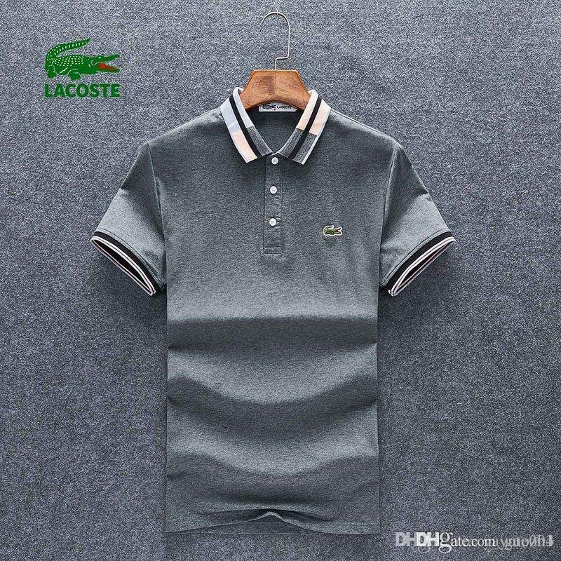 Mabi Camisetas High Horse Camiseta Polo Marca De Guozh Bordado Diseñadores Fashion Street La Lujo Italia XOuZikP
