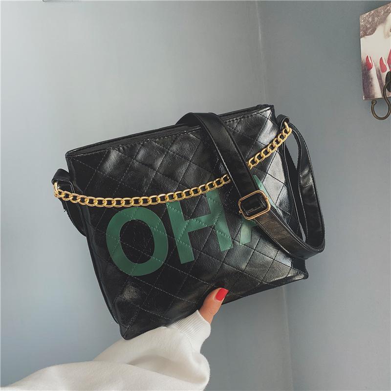 2018 New Ladies Tassels Shoulder Chain Bag Fashion Women Handbags PU ... 5efdb64df7be8