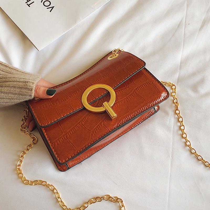 9efb3f9c0a Stone Pattern Small Crossbody Mini Bags 2019 Good Quality Leather Handbags  For Women Girls Shoulder Bag Chain Hand Bags Best Messenger Bags Handbags  Brands ...
