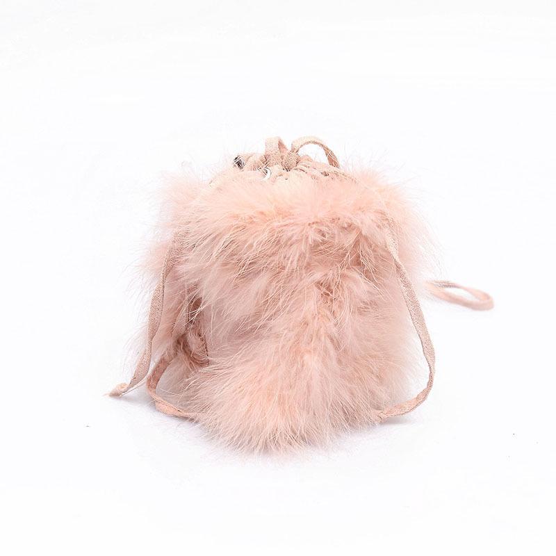 c2666cb3cc77 2019 Fashion 2018 Women Faux Fur Luxury Designer Shoulder Bag Elegant Lady Messenger  Bag Fashion Plush Bucket Bag Beach Bags Duffle Bags From Bag0