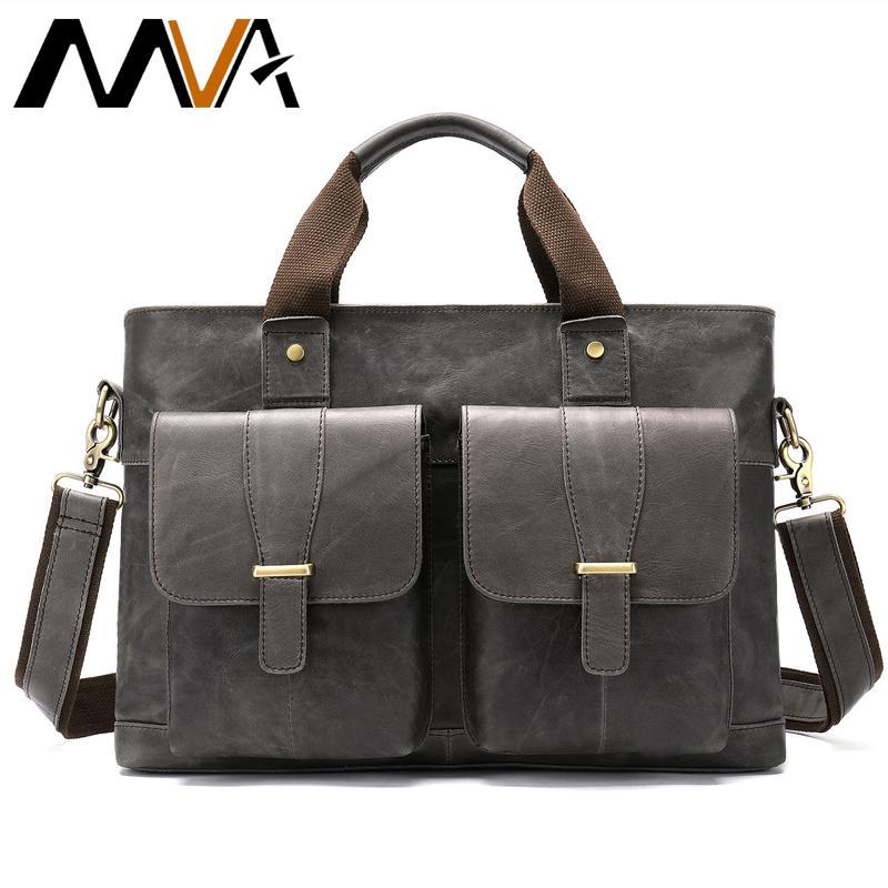 Herrentaschen Heißer Verkauf Männer Pu Leder Business Arbeit Handtasche 2018 Neue Mode Männlichen Einfarbig Hülle Tasche Aktentasche Aktentaschen