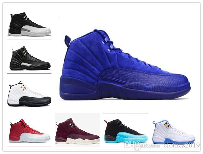 73471449b433 Cheap Men 2018 New 12 XII Wings CNY Basketball Shoes Designer Sports ...