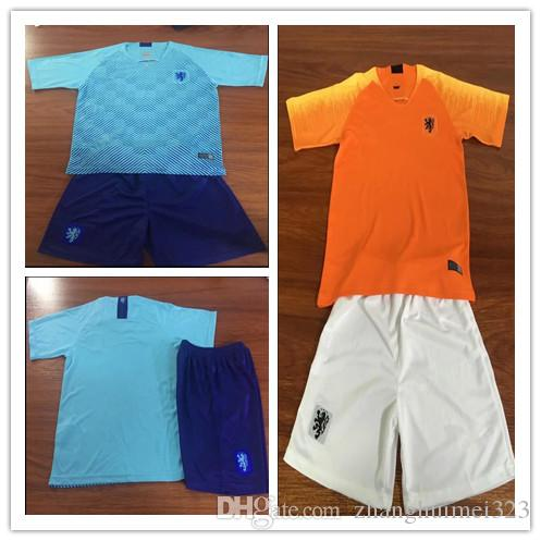cb3360761 2019 New Adult 2018 19 Nederland Soccer Jersey Netherlands Home Away Orange  And Blue MEMPHIS JERSEY ROBBEN 18 19 Thai Quality V.Persie Dutch Fo From ...
