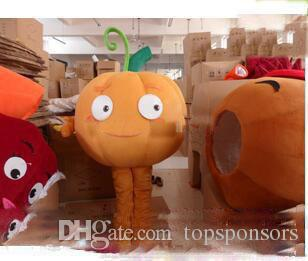 Hot sale new plush pumpkin carnival costumes mascot costumes adult size free shipping