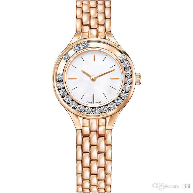 a0d9958b0fd1 Compre 2019 A Pcs   Moda Mujer Relojes De Lujo Belleza Dama Reloj ...