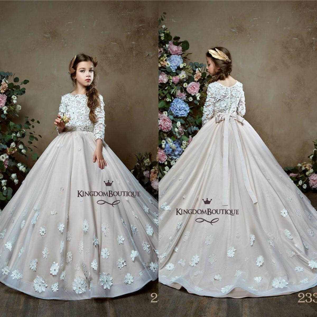 5ef46138ffabf Flower Girl Dresses With Sash Uk