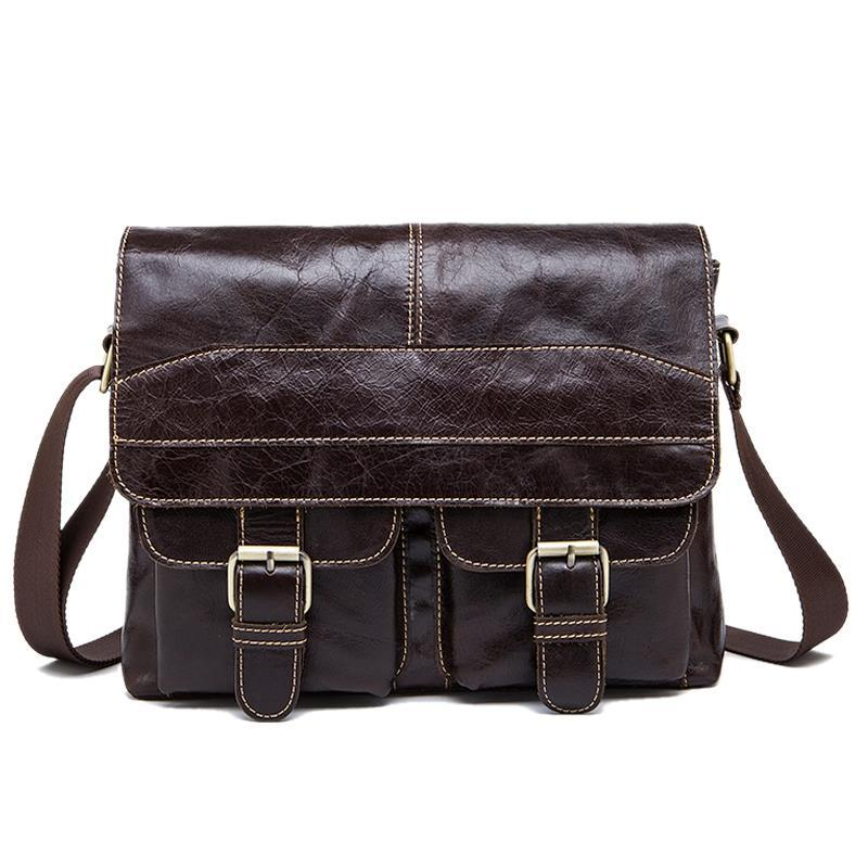 df02acaab947 Mva Messenger Bag Men S Shoulder Bag Men S Retro Zip Crossbody 9880 ...