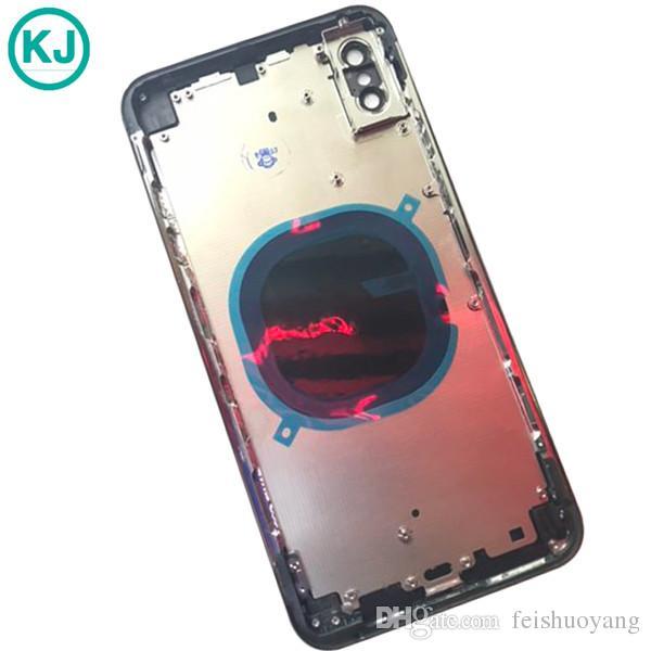 29cd697d516 Forro Para Celulares Para Iphone Carcasa Completa Tapa Trasera Carcasa  Completa De Cristal Tapa Trasera De Batería Tapa De Batería Con Marco Para  IPhone XS ...