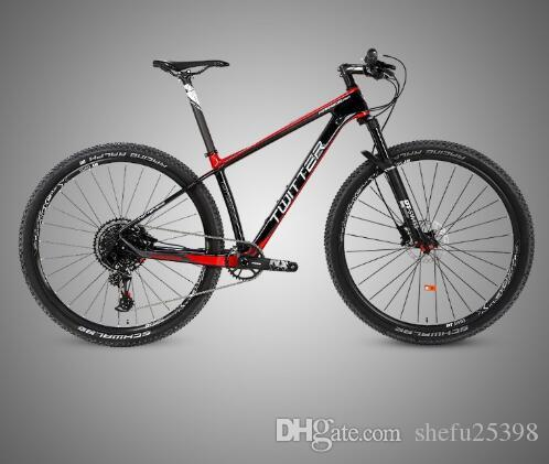 Carbon Fiber Mountain Bike >> 12 Variable Speed Carbon Fiber Mountain Bike 29 Inch 27 5 Inch Nx Kit With Dt Wheel Group Off Road Bicycle
