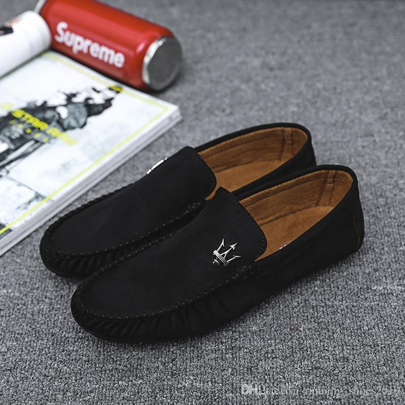 3a130de276 Moccasins Gommino Leather Drivers With Sylvie Web Buckle Loafers Soft  Slipper Men Flats Casual Classic Laced Softsole Boat Shoes #201971