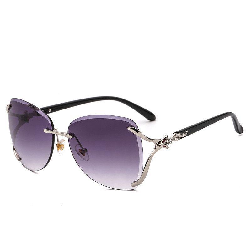 8d1ac03a4f 2019 New Stylish Sunglasses Luxury Brand Women Big Frame Glasses High  Quality UV Protection Gradient Fashion Eyewear Designer Sunglasses  Sunglasses Uk ...