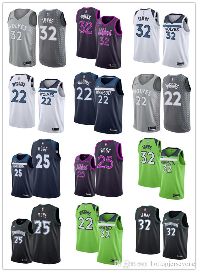 26cd2837a45 2019 Earned Edition City TIMBERWOLVES 22 Wiggins 25 Derrick Andrew Rose  MINNESOTA Swingman Jersey 32 Towns Prom Suit Tailored Suit From  Hotcustomjersey