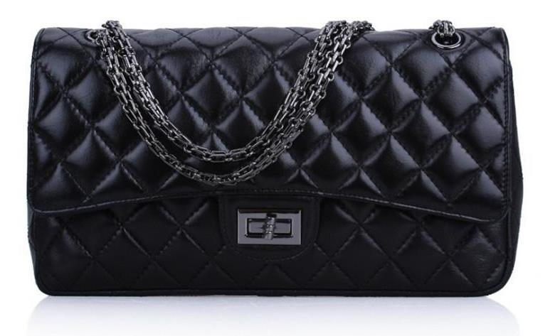 5a4e68a893 Designer Luxury Handbags Purses Black Real Oxidation Leather Fashion Real  Lamb Leather Bag Famous Bag Cheap Classic Chain Side Bag F2 Red Handbags  Ivanka ...