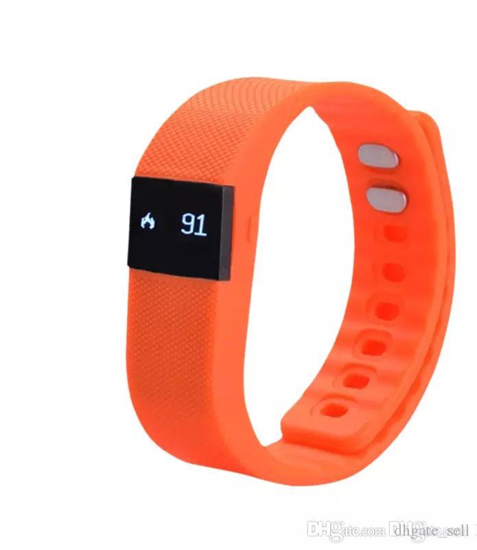 bf3d17729c38 Fit bit Fitbit TW64 Smartband Pulsera deportiva inteligente Pulsera Fitness  tracker Bluetooth 4.0 fitbit flex Reloj para ios android fashion 2019