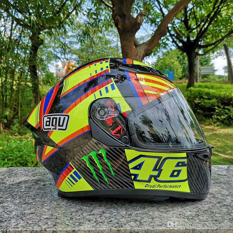 купить оптом Agv Pista Soleluna Rossi двойной козырек Replica Helmet