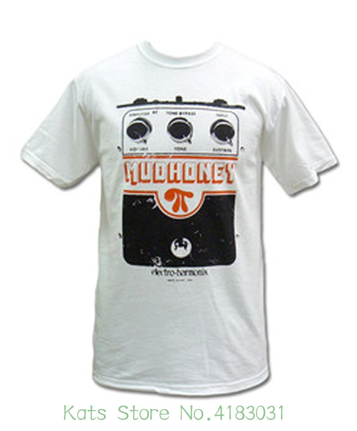 Mudhoney Superfuzz T-shirt de qualité T-shirts hommes Impression manches courtes T-shirt